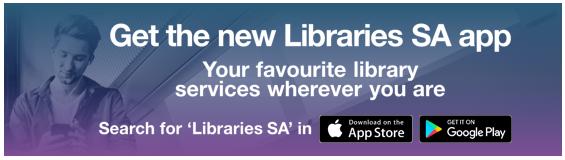 Libraries SA app banner